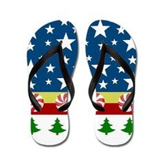 Comet Candy Cane Trees Flip Flops> Comet Navy-trees> DrapeStudio - CHRISTMAS FLIP FLOPS in ALL Sizes from kids to adults - more fun products with this Christmas holiday design in our shop www.cafepress.com/drapestudio & MORE Christmas gift ideas on our main site www.drapestudio.com and www.etsy.com/shop/drapestudio ALSO fabric by the yard www.spoonflower.com/profiles/drapestudio