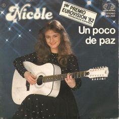 "Nicole - ""Un poco de paz"", spanish version of ""Ein bisschen Frieden"", the winning song of the Eurovision Song Contest 1982 from Germany"