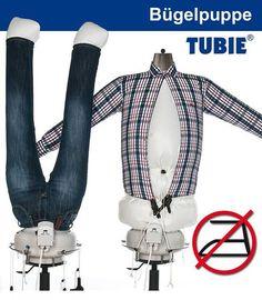 TUBIE Hemdenbügler Bügelpuppe Bügeleisen Bügelstation Bügelbrett Bügelmaschine