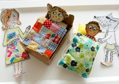 Book inspired crafts.  Turn characters from any book into actual 2D and 3D props.