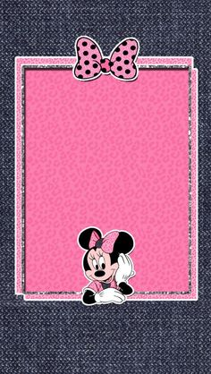 Home Screen Wallpaper Mickey Mouse Wallpaper Iphone, Cute Disney Wallpaper, Pink Wallpaper, Cellphone Wallpaper, Wallpaper Backgrounds, Iphone Wallpaper, Screen Wallpaper, Mickey Mouse Cartoon, Mickey Minnie Mouse