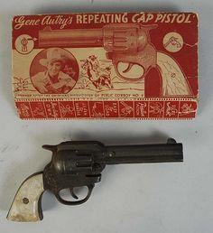 Gene Autry Repeating Cap Pistol.