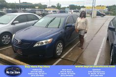 Congratulations jONEQUA on your #Toyota #Camry from Valerie Zaragoza at My Car Store Buy Here Pay Here!  http://deliverymaxx.com/DealerReviews.aspx?DealerCode=YOGM  #MyCarStoreBuyHerePayHere