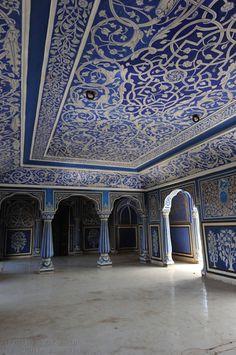 Just incredible. Moon palace, Jaipur, India.