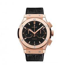 Hublot Classic Fusion King Gold Chronograph Watch 521.OX.1181.LR