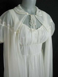 Vintage nightgown 1950's