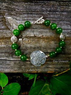 Wisdom Triskele Bracelet by EireCrescent on Etsy, $24.99