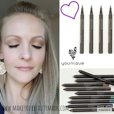 Just wing it! Order your Younique Moodstruck Precision Pencil or Liquid Eyeliner at www.makeyourbeautymark.com