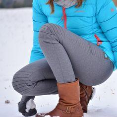 Dieses Ebook enthält eine Nähanleitung und ein Schnittmuster Damenhose in Slim Fit Passform mit verstärkter und gesteppter Kniepartie.