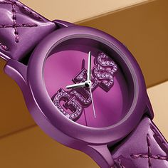 Statement Watches: Purple and Quilty