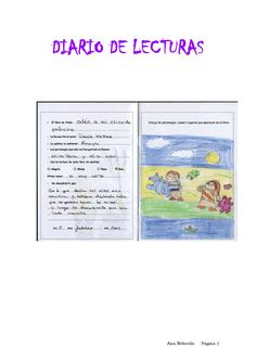 El diario de lecturas es un pequeño cuadernillo en el que el lector va anotando los libros que ha leído. En él escribe los datos más importantes del libro: autor, título y editorial.