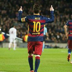 Messi scored twice in his return to Camp Nou  Messi va marcar dues vegades en la seva tornada al Camp Nou  Messi marcó dos veces en su vuelta al Camp Nou  #FCBvRoma #FCBarcelona #Messi @leomessi @fcbarcelona
