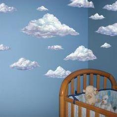 Sky Clouds Mural