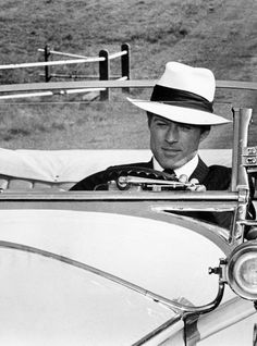 Robert Redford in The Great Gatsby (1974) ... yes. please.