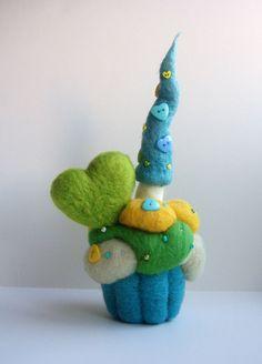 cupcake fairy house