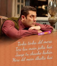 Tinka Tinka Dil Mera Lyrics - Tubelight Song