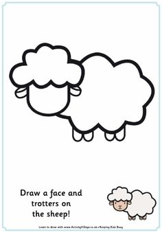 Complete the picture sheep
