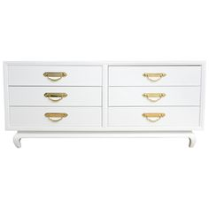 Finely Designed Chest of Drawers Circa 1950s