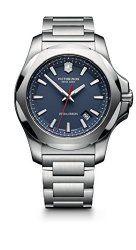 Victorinox Men's 241724.1 I.N.O.X. Analog Display Swiss Quartz Silver Watch