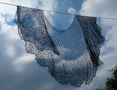 Ravelry: Sheherazade Beaded Lace Shawl pattern by Anna Victoria