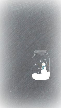 FREE Snow Globe Wallpaper Download for iphone - Creative Cain Cabin