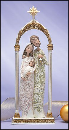 Artisan™ Collection Holy Family Nativity in Arch