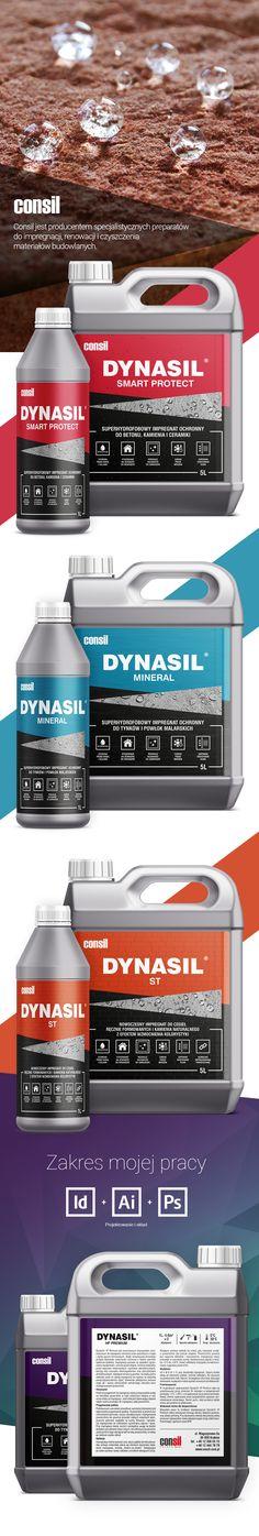 Consil Dynasil   Package Design   Label Design