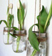 Des vases suspendus dans les airs - Marie Claire Maison