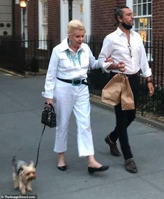 Ivana Trump enjoys Fourth of July date with Rossano Rubicondi   Daily Mail Online Donald Trump Ex Wife, Ivana Trump, Living In New York, Ex Wives, Ex Husbands, Saint Tropez, Yorkshire Terrier, Fourth Of July, Business Women