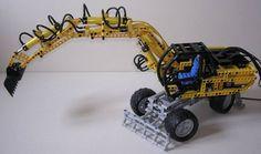 TechLug.fr - Review Lego Technic #FSB002 Excavatrice JCB JS 130
