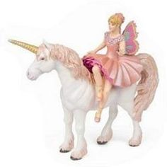Elf Ballerina With Unicorn #elves #fairies