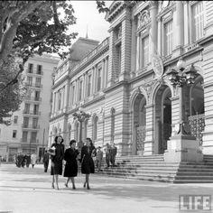 Facultad de Derecho UdelaR. Montevideo, Uruguay. Construccion: 1849. FOTO: 1941