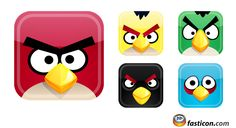 Free Icons: Angry Birds Icons