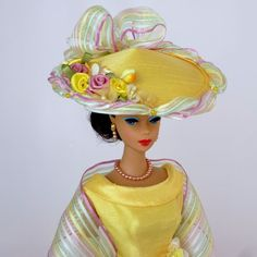 "OOAK Handmade Vintage Barbie/Silkstone Fashion by Roxy-"" SUMMER DAY "" 13pcs"