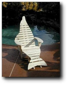 Adirondack Dolphin Chair Woodworking Plans