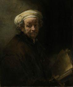 Rembrandt Harmensz. van Rijn, 'Self-portrait as the apostle Paul', 1661, Rijksmuseum, De Bruijn-van der Leeuw Bequest, Muri, Switzerland.