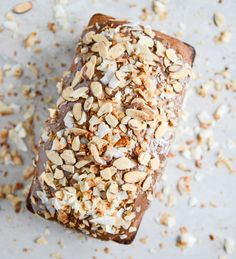 Spiked Almond Joy Poundcake