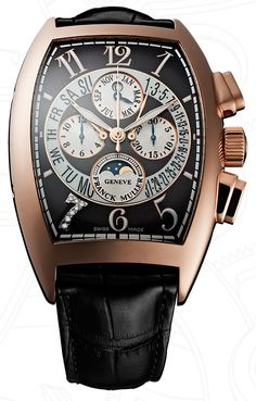 Franck Muller Cristiano Ronaldo CR7 Perpetual Calendar Bi-Retro Chronograph For all the latest news on luxury watches and watches for sale www.ChronoSales.com #ChronoSales