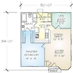Lake View 30'x34' $31k Kit Home