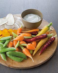 Creamy Herb Dip with Crudités