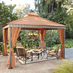 Elegant Guide To Build Patio Canopy Gazebo | Gazebo,Small Structure | Pinterest | Patio  Gazebo, Canopy And Furniture Sets