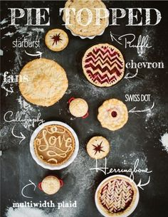 17 Perfect Pie Crust Designs {how to}
