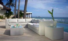 The North Outdoor Furniture Collection features a unique and elegant design, indicative of the innovation and quality that has made Skyline Design the leader in luxury outdoor furniture. Used Outdoor Furniture, Outdoor Sofa Sets, Log Furniture, Outdoor Sectional, White Furniture, Antique Furniture, Modern Furniture, Outdoor Living, Canapé Design