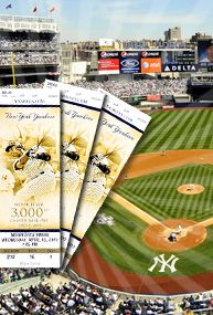 New York Yankees tickets! I want to see them play in pin stripes I have seen them play in grey!