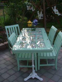 Diy outside table