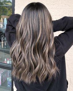 Brown Hair With Blonde Highlights, Asian Hair Highlights, Dark Ash Blonde Hair, Fall Blonde, Fall Highlights, Ash Hair, Hair Color Asian, Asian Ash Brown Hair, Hair Color Balayage