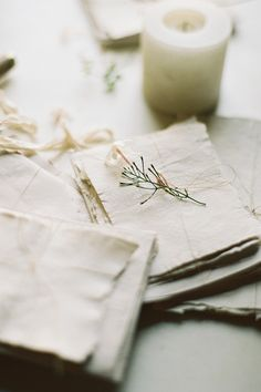 Handmade Paper Stationery Set