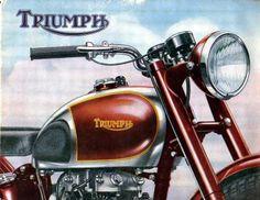 vintage triumph ads - Google Search