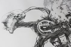Manual drawing (pencil) - A0 (841×1189) / Rysunek (ołówek) - format A0 (841×1189)