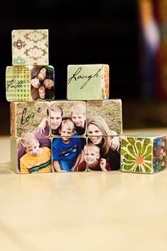 Personalized Wood Photo Blocks by misse33 on Etsy, $150.00